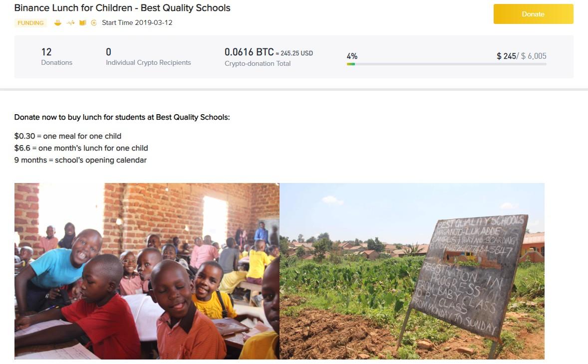 全球首家区块链驱动的慈善基金会,币安BCF要把加密行业的成功经验复制到慈善行业