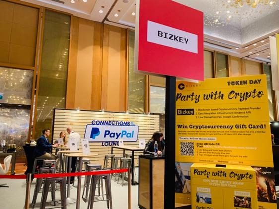 Bizkey受邀参展Money 20/20 亚洲大会,全球创新精英体验数币支付