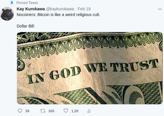 """经济学家:法币是""""宗教"""",比特币是""""邪教"""""""
