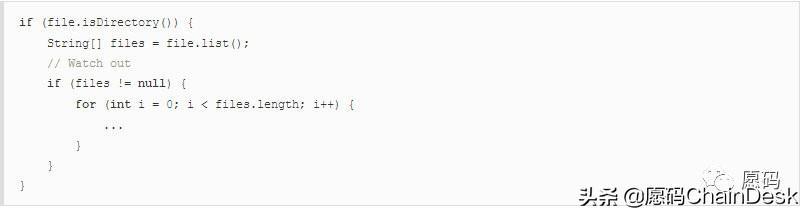 愿码(ChainDesk.CN):10个实用的但偏执的Java编程技术