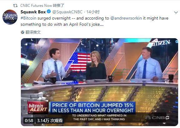 比特币无缘无故暴涨20%?他们说是因为这些原因