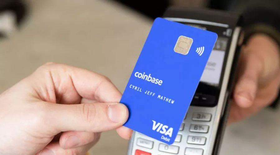 Coinbase向英国及欧盟客户推出加密货币Visa借记卡