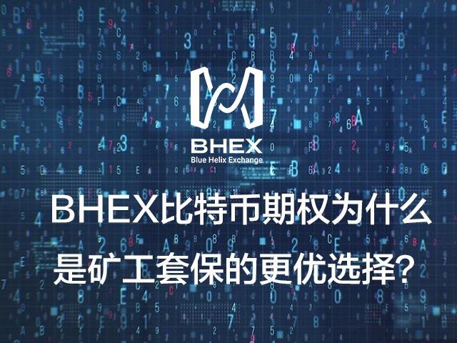 BHEX比特币期权,为什么是矿工套保的更优选择?