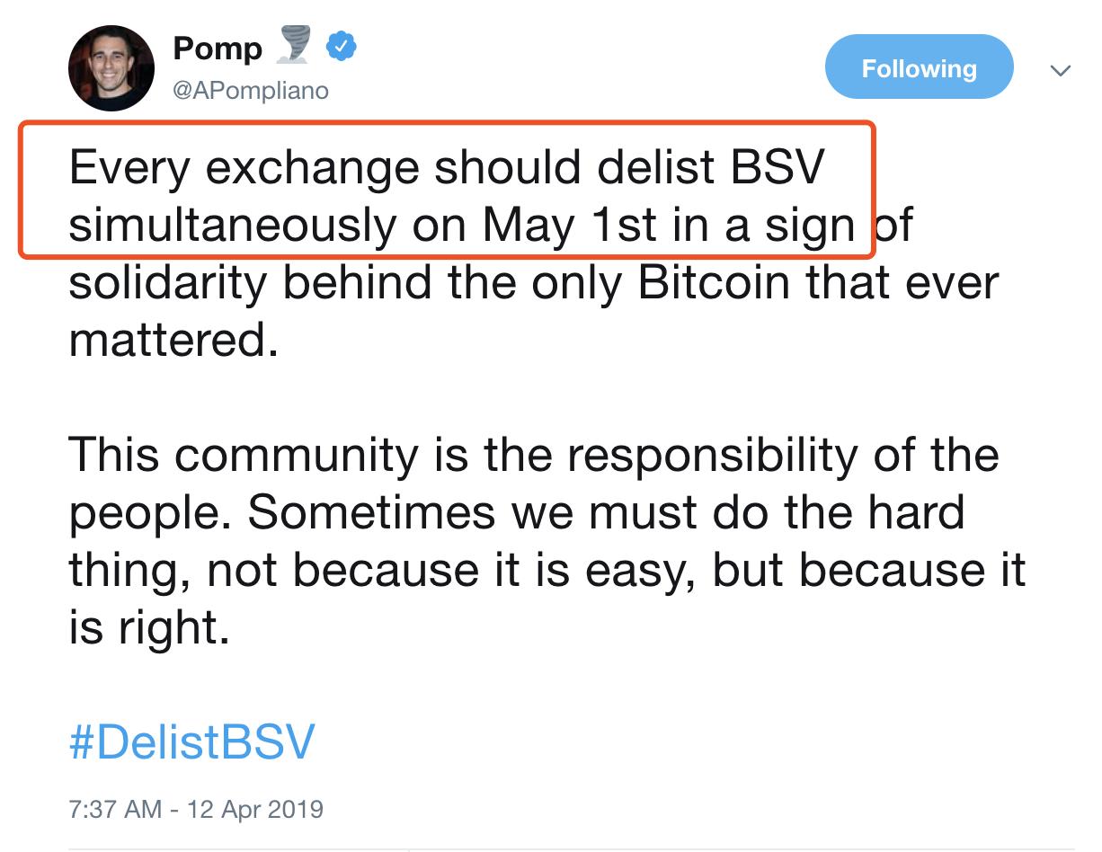 币安之后,等待BSV的是什么