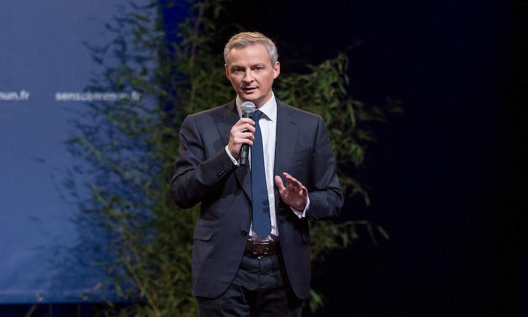 法国财政部长:尽全力支持区块链技术创新,让法国处于领跑地位