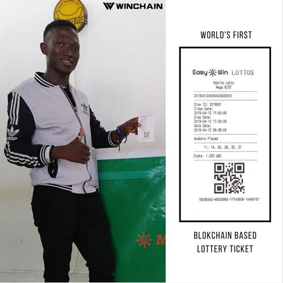 Winchain宋超:助乌干达发布世界首张区块链彩票,双链体系专注垂直领域