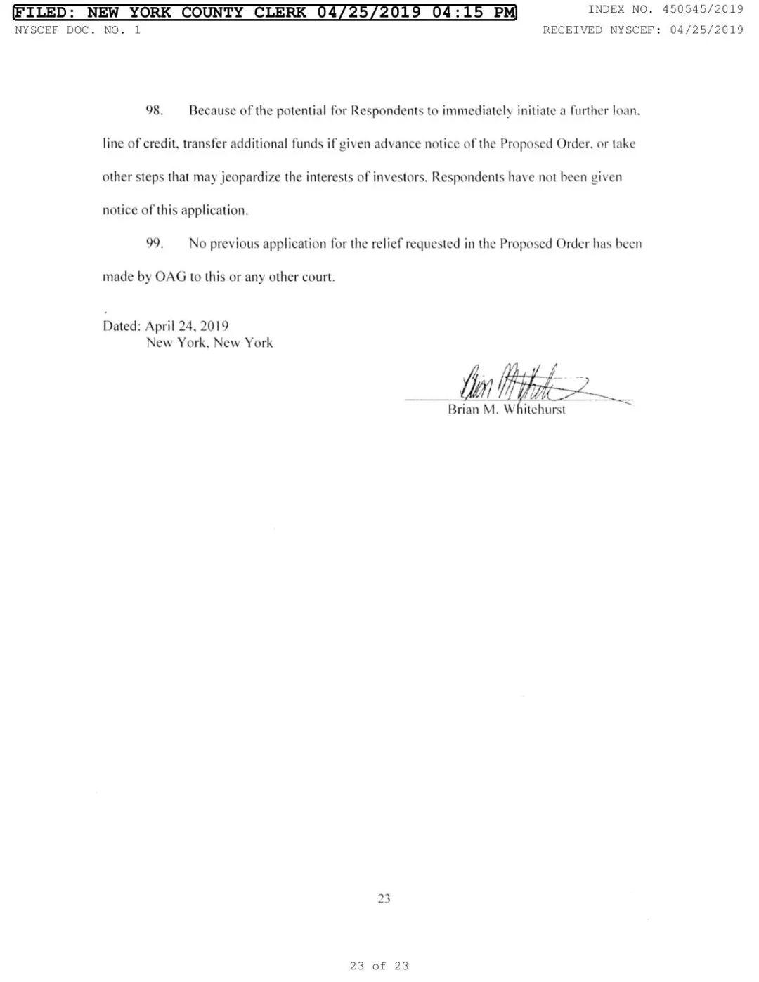 全面还原Bitfinex、Tether被诉:4项重大违规、9亿美元存疑 (附23页诉讼书)
