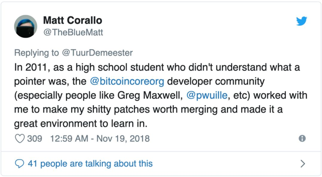 谁在掌控 Bitcoin Core?