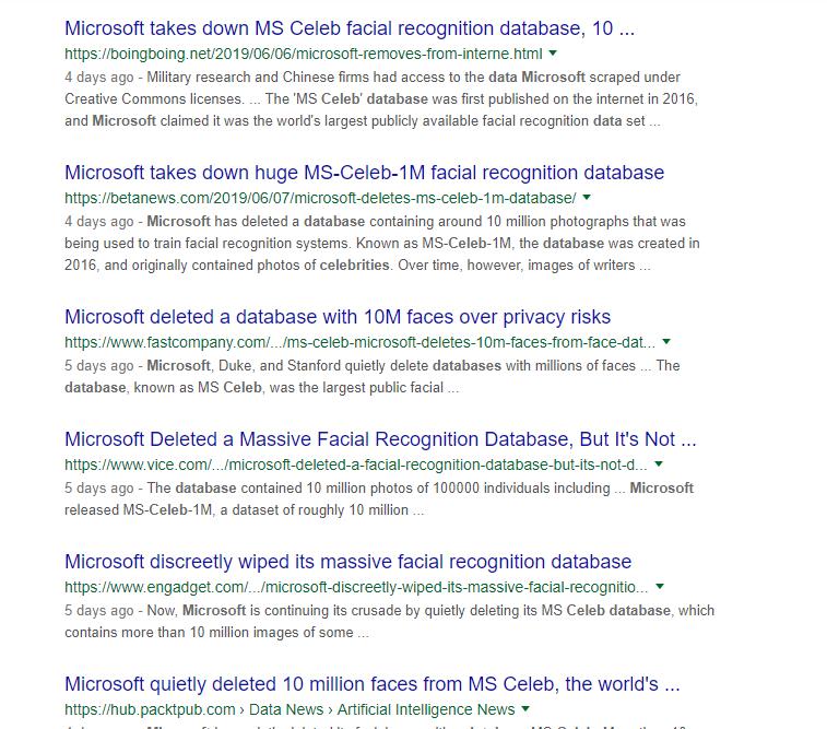 微软删除人脸数据库?超脑独有技术可有效排除数据泄露风险