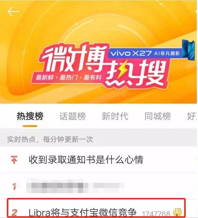 Libra公开叫板微信支付宝,要做全球性货币,中国如何应对?