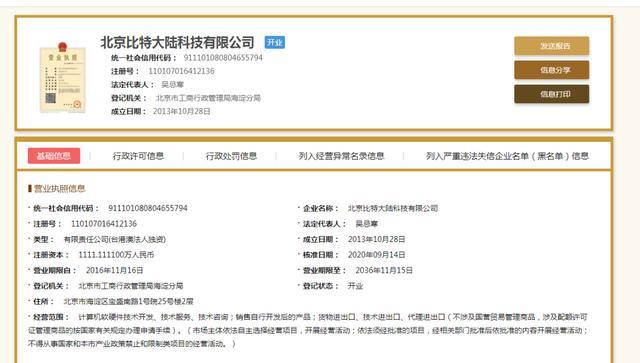 突发:北京比特法人重回吴忌寒手中,后续走向解读
