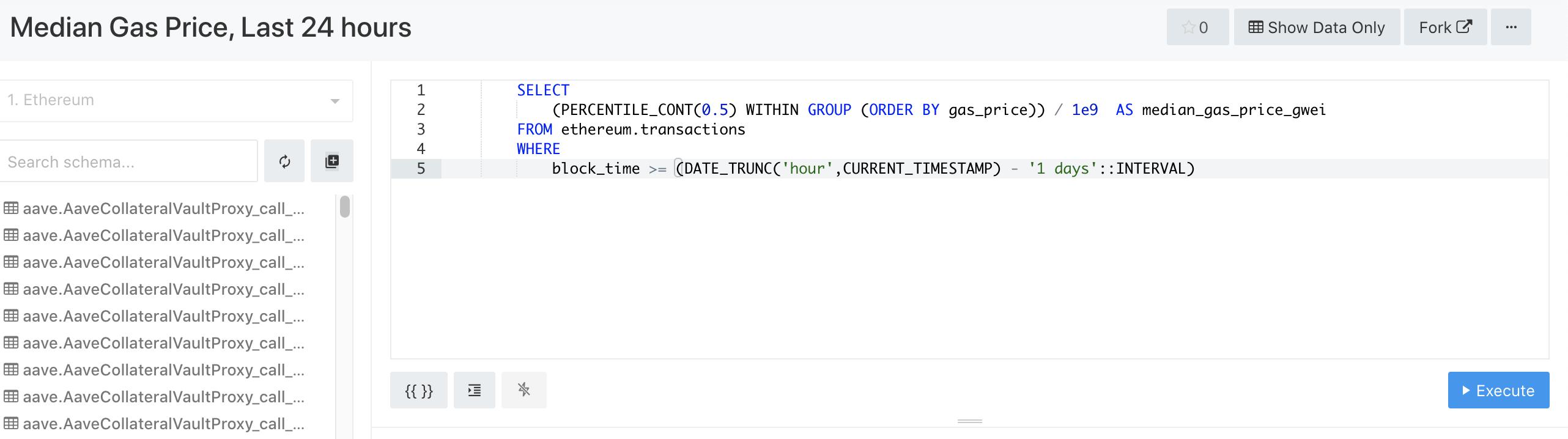手把手教你使用如何区块链分析平台Dune Analytics