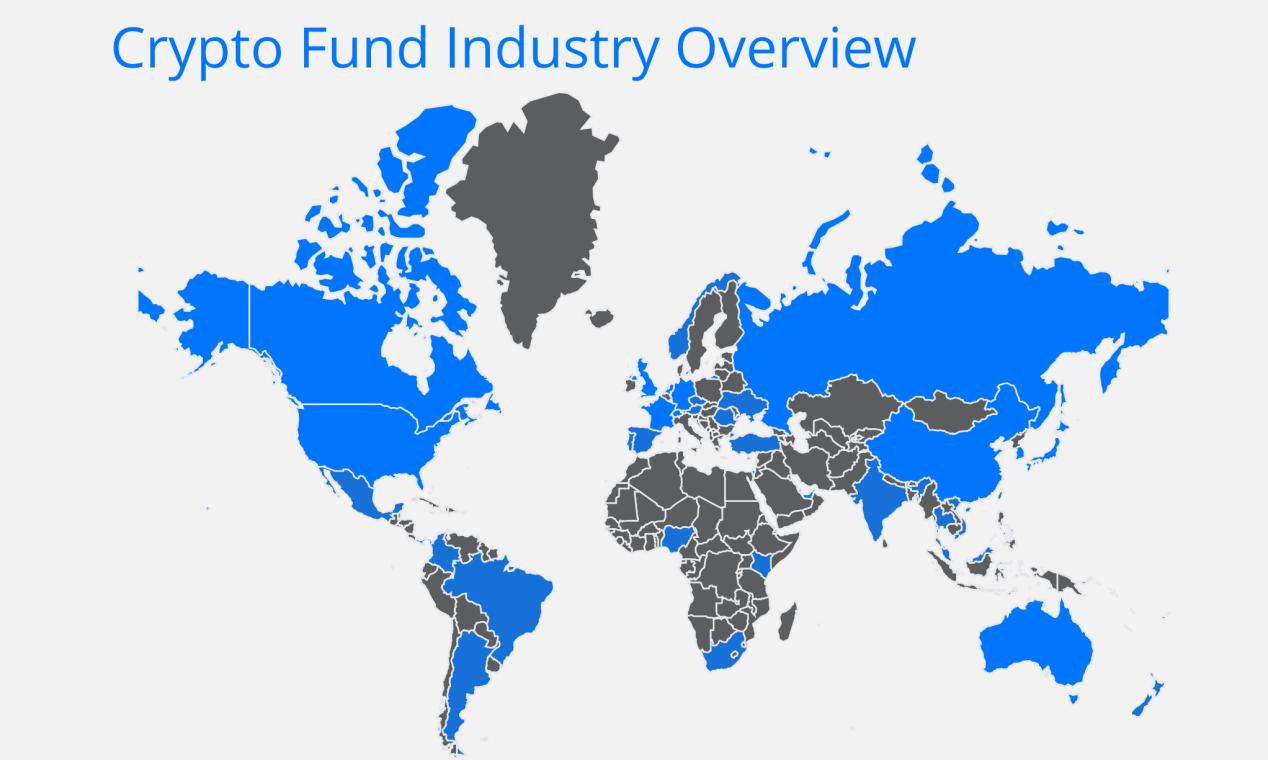 2020年加密基金累积资产管理规模突破200亿美金,超过一半加密基金办事处设立在美国